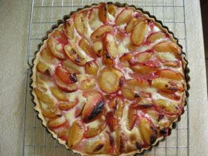 Alex's original plum pie