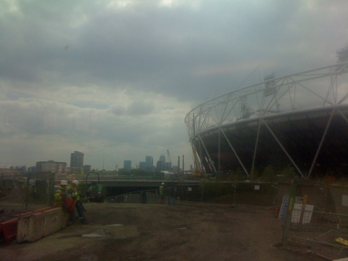 Picture of the Olympic Stadium